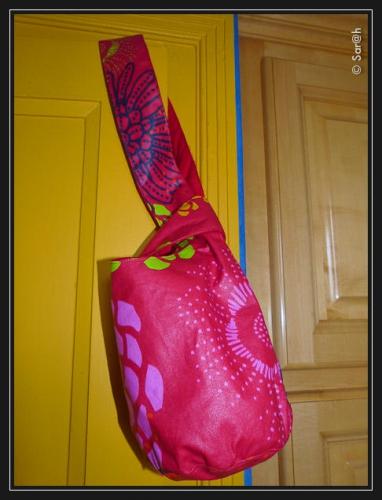 Japanese knot bag, sac noué japonais