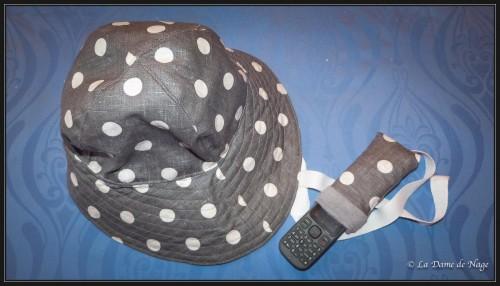chapeau & housse de portable, couture